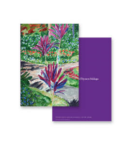 BOTANICAL GARDEN I GREETING CARD