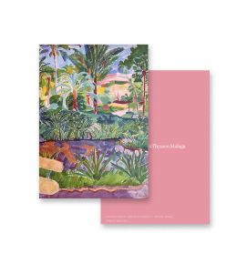 BOTANICAL GARDEN II GREETING CARD