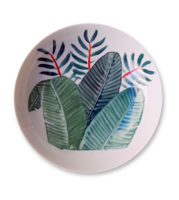 PALM LEAVES BOWL