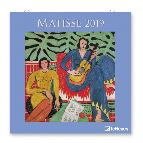 CALENDARIO MATISSE 2019