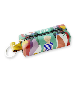 PICASSO ART IS A LIE KEY RING CASE|PICASSO KEY RING CASE