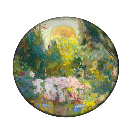 Courtyard of the Casa Sorolla pocket mirror|POCKET MIRROR