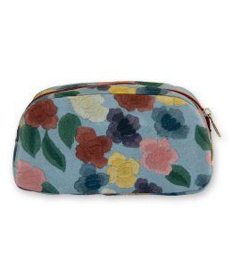 SPANISH SHAWL MAKE-UP TRAVEL BAG| SHAWL TRAVEL BAG