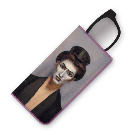 CHICO WITH TOP HAT EYEGLASS CASE|KUHN EYEGLASS CASE