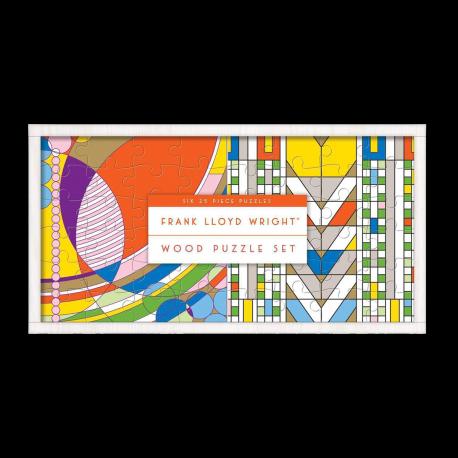 FRANK LLOYD WRIGHT WOOD PUZZLE