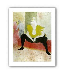 La payasa sentada, Mademoiselle Cha-U-Kao