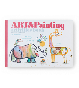 ART & PAINTING ACTIVITIES BOOK