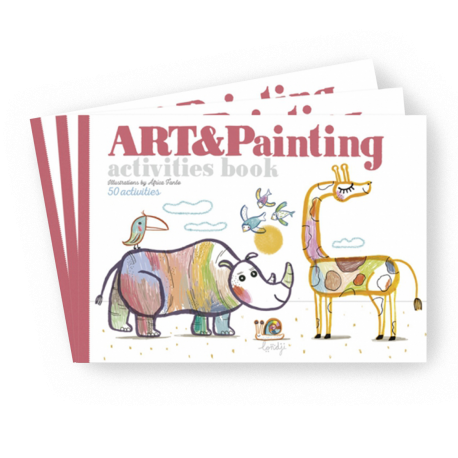 ART & PAINTING ACTIVITIES BOOK