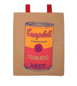 CAMPBELL´S SOUP TOTE BAG|WARHOL TOTE BAG