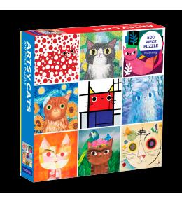 PUZZLE ARTSY CATS