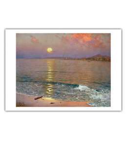 SUNSET OVER THE COAST OF MÁLAGA PRINT|GÓMEZ GIL PRINT