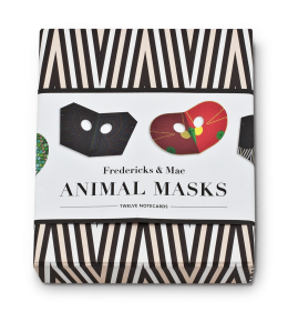 TARJETAS ANIMAL MASKS