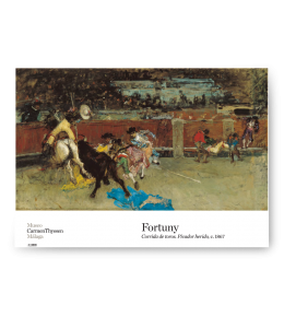 PÓSTER CORRIDA DE TOROS FORTUNY|PÓSTER FORTUNY