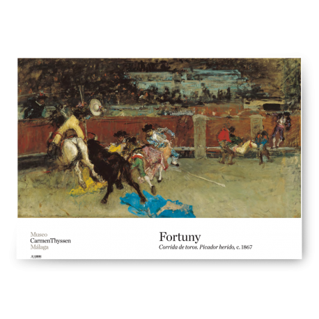 FORTUNY BULLFIGHT POSTER