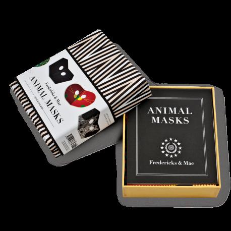 ANIMAL MASKS NOTECARDS