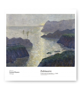 BASQUE COAST AT DUSK POSTER|ZUBIAURRE POSTER