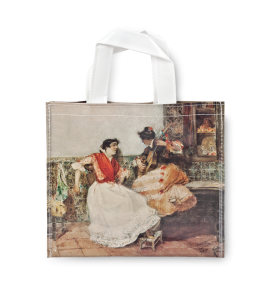 PLAYING THE GUITAR SHOPPER BAG|SOROLLA SHOPPER BAG