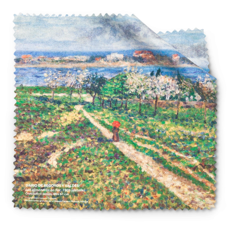 ALMOND TREES IN BLOSSOM CLEANING CLOTH|CLEANING CLOTH