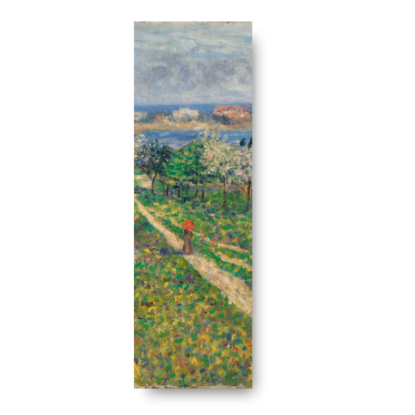 ALMOND TREES IN BLOSSOM BOOKMARK