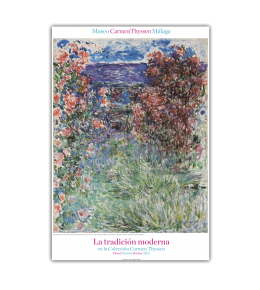 THE HOUSE AMONG THE ROSES POSTER|MONET POSTER