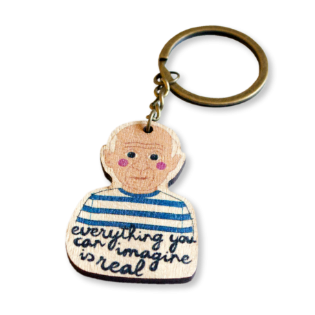 PICASSO KEYRING
