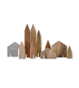 MINI HOUSES SCULPTURES